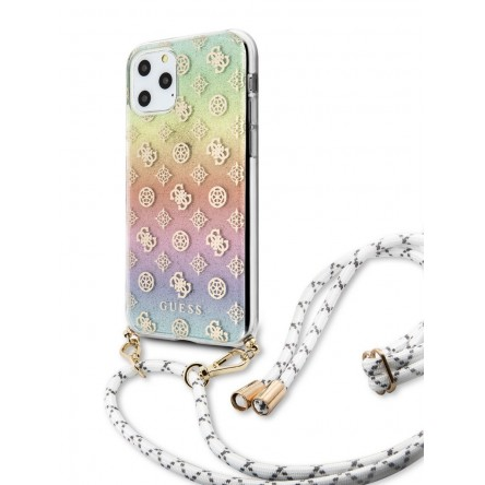 Guess 4G Cord collection Hard PC/TPU Iridescent multicolor