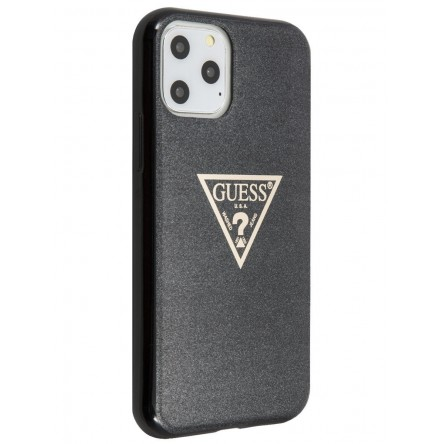 Guess Triangl logo Hard TPU Glitter Black