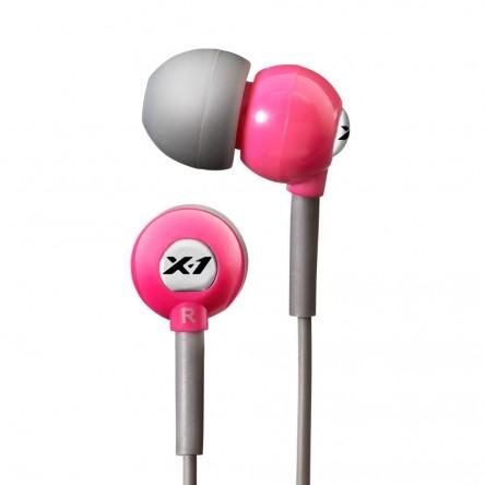 X-1 Flex All Sport Waterproof Headphones. Power Pink