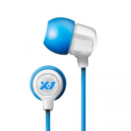 X-1 Women's Surge Mini Waterproof Sport Headphones. White