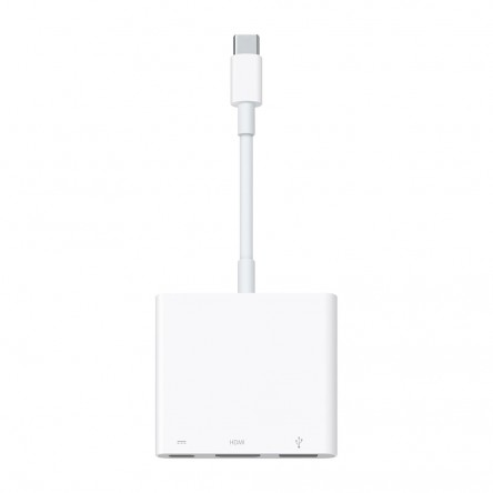 Многопортовый цифровой AV‑адаптер USB-C