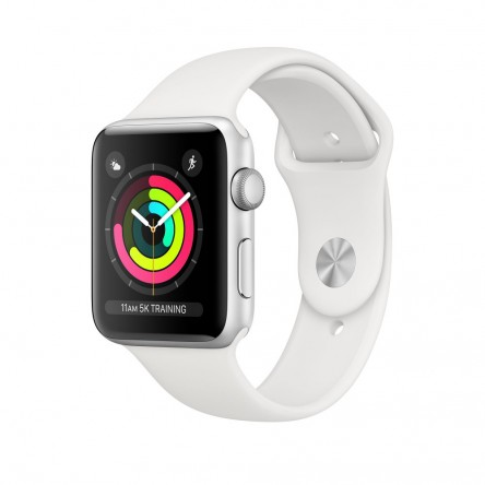 Apple Watch Series 3 38mm. Silver Aluminum