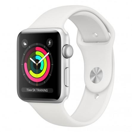 Apple Watch Series 3 42mm. Silver Aluminum
