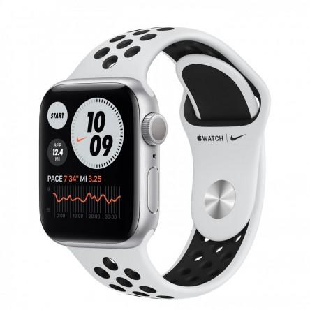 Apple Watch Nike Series 6 40mm. Silver Aluminum