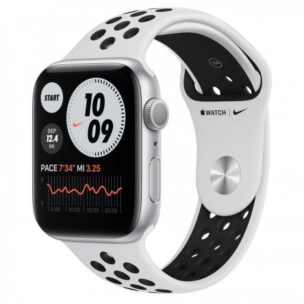 Apple Watch Nike Series 6 44mm. Silver Aluminum