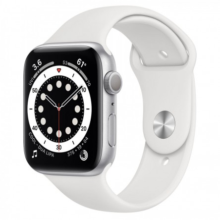 Apple Watch Series 6 44mm. Silver Aluminum