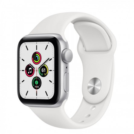 Apple Watch SE 40mm. Silver Aluminum
