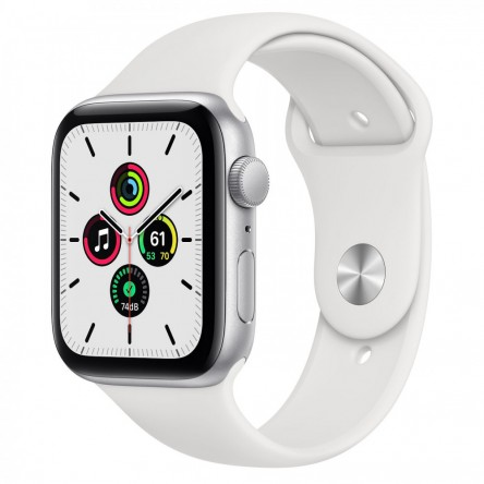 Apple Watch SE 44mm. Silver Aluminum