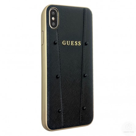 Guess KAIA collection Hard for iPhone XS Max Black