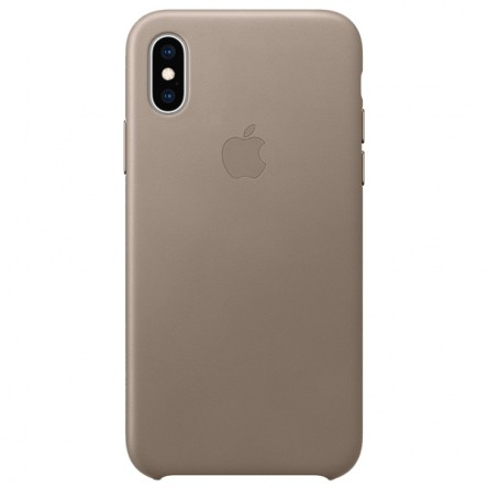 Apple iPhone ХS Leather Case Taupe