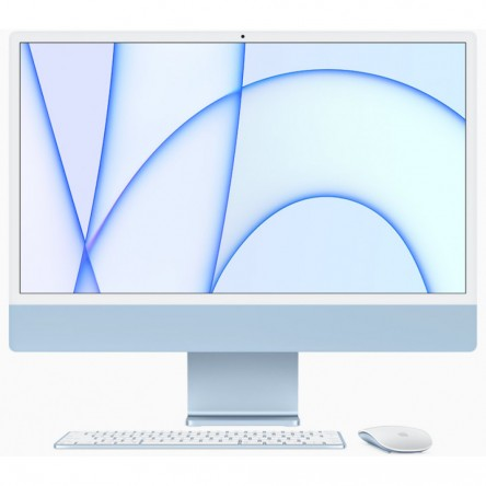 iMac 24 M1 8-core CPU/8-core GPU/8Gb/256Gb SSD/Blue