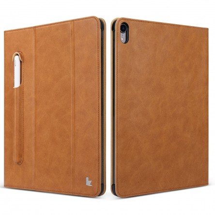 Jisioncase Micro fiber leather case Brown