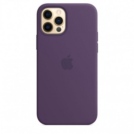 Apple iPhone 12 | 12 Pro Silicone Case with MagSafe Amethyst