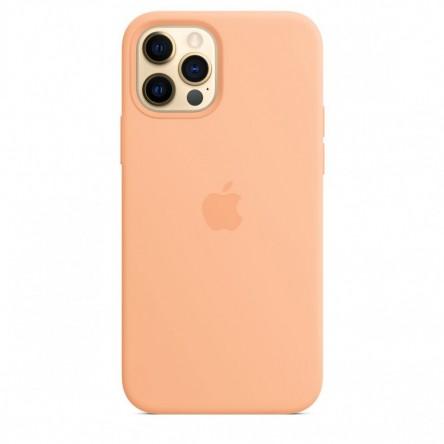 Apple iPhone 12 | 12 Pro Silicone Case with MagSafe Cantaloupe