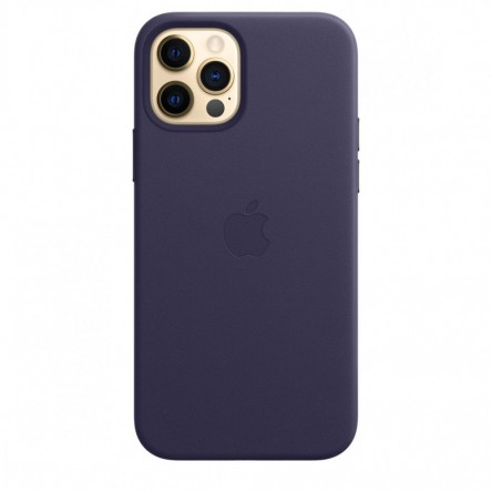 Apple iPhone 12 | 12 Pro Leather Case with MagSafe Deep Violet