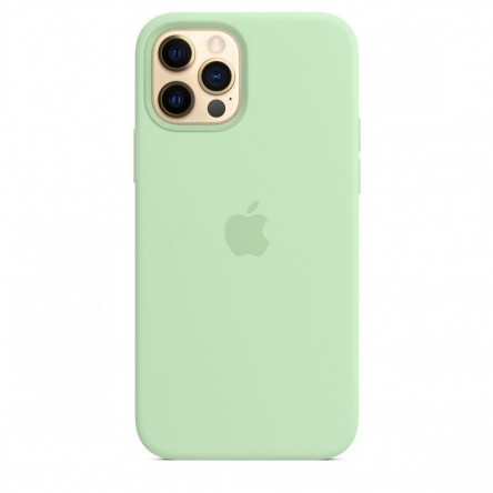 Apple iPhone 12 | 12 Pro Silicone Case with MagSafe Pistachio