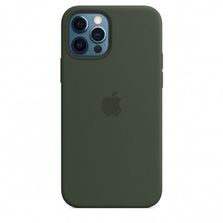 Apple iPhone 12 | 12 Pro Silicone Case with MagSafe Cyprus Green