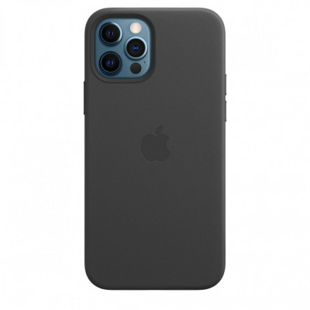 Apple iPhone 12 | 12 Pro Leather Case with MagSafe Black