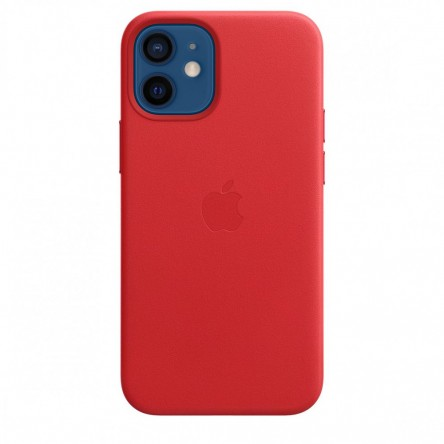 Apple iPhone 12 mini Leather Case with MagSafe (PRODUCT)RED