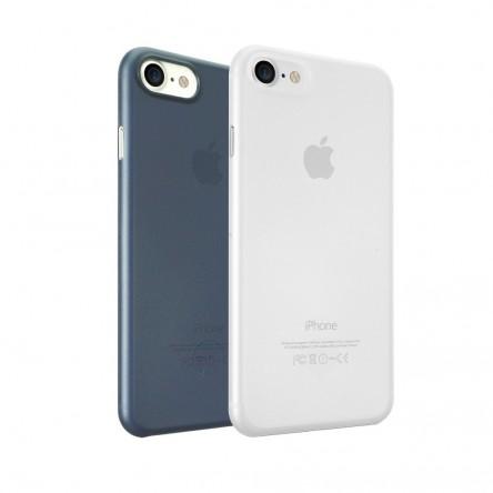 Ozaki 0.3 Jelly for iPhone 7 прозрачный и темно-синий